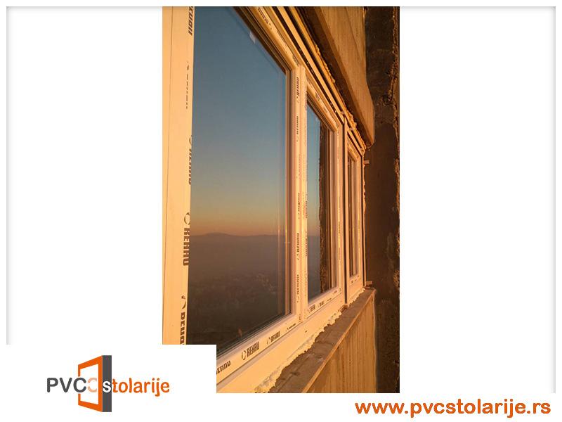 Ugradnja PVC prozora Rehau – Istočna kapija Beograda