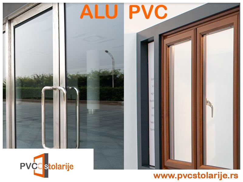Razlika u ceniPVC stolarije i ALU stolarije - PVC stolarije Tim
