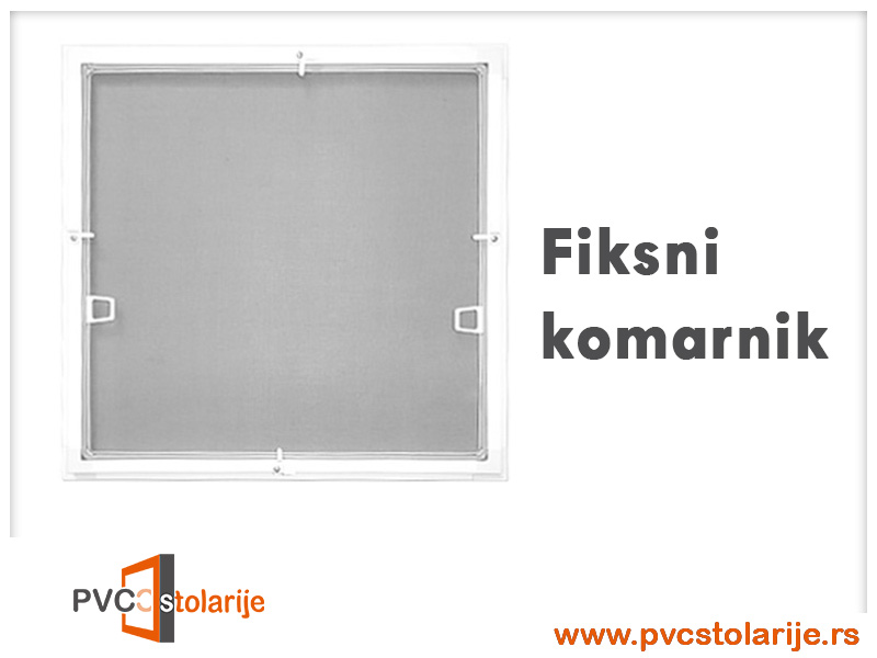 Fiksni komarnici - komarnik - PVC Stolarije Tim