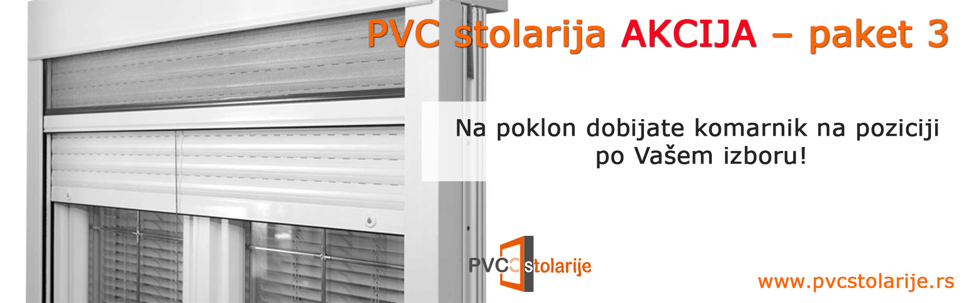 PVC stolarija akcija – paket 3 - PVC Stolarije Tim