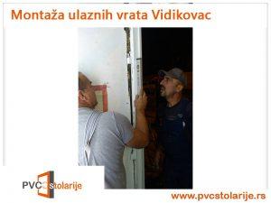 Montaža ulaznih vrata Vidikovac - PVC Stolarije Tim