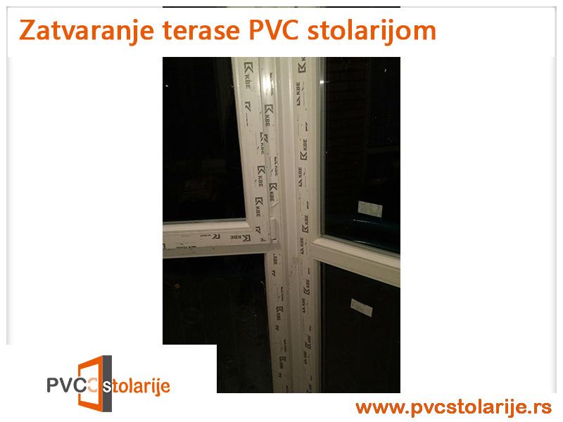 Zatvaranje terase PVC stolarijom - PVC Stolarije Tim