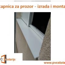 Okapnica za prozor - okapnice za prozore - PVC Stolarije Tim