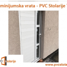 Aluminijumska vrata - PVC stolarije Tim