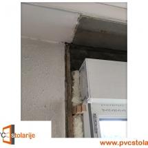 Ispunjavanje pur pene između prozora i zida -zamena prozora u stanu