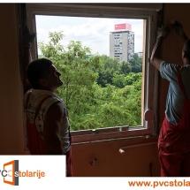 Postavljanje prozora - PVC stolarije Tim
