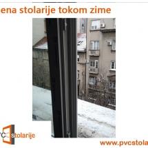 Zamena stolarije tokom zime - PVC stolarije Tim