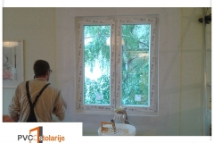 Obrada ivica oko prozora - PVC stolarije Tim