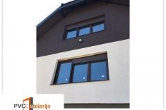 Trokrilni PVC prozor ugradnja - 210/160, komarnik, roletna - rehau ecosol