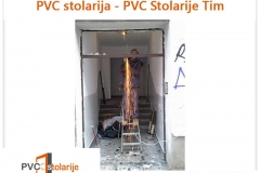 Zamena ulaznih vrata - PVC stolarije Tim