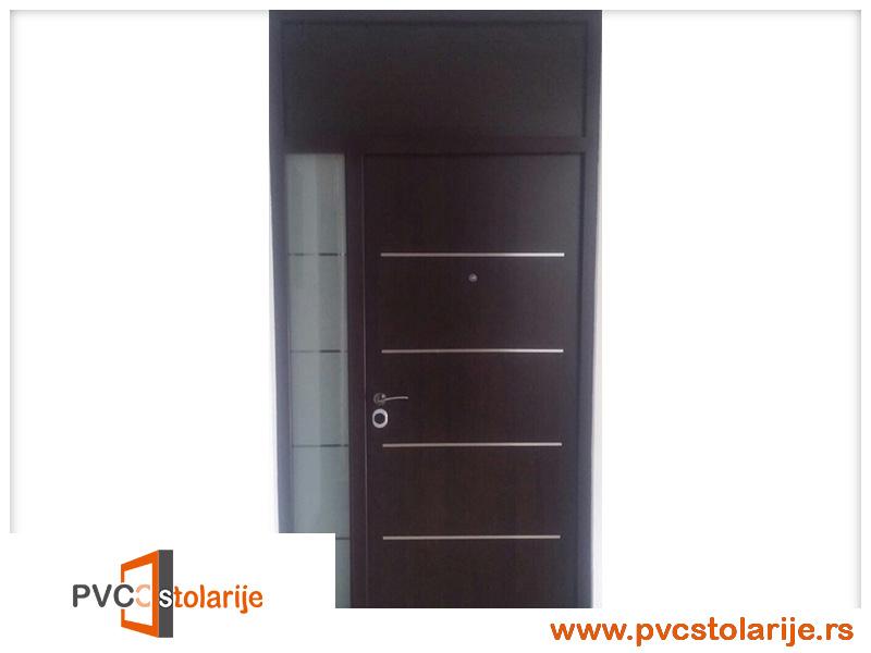 Spoljna sigurnosna vrata - PVC stolarije tim