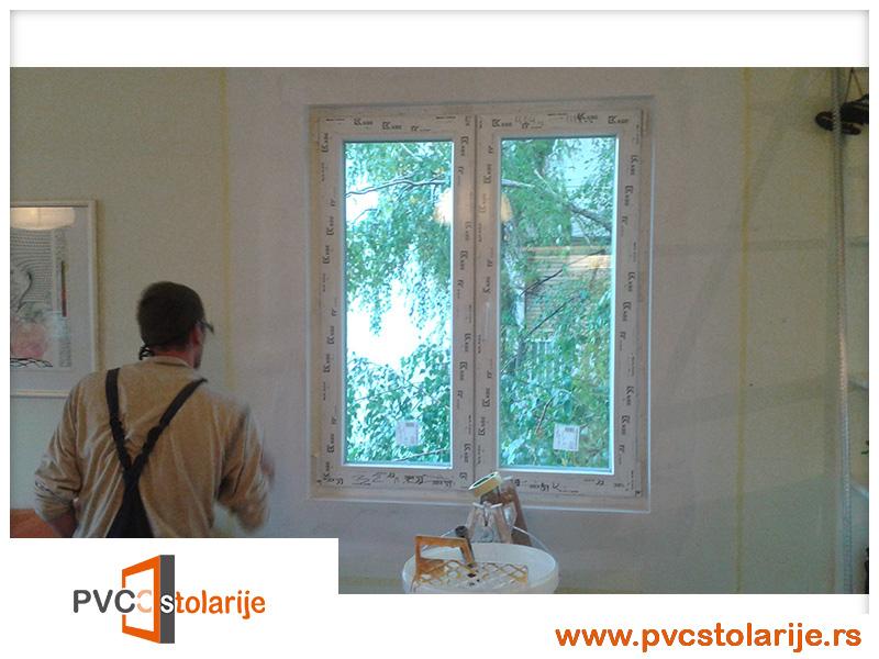 Obrada ivica prozora prepustena profesionalcima - Zamena prozora u stanu