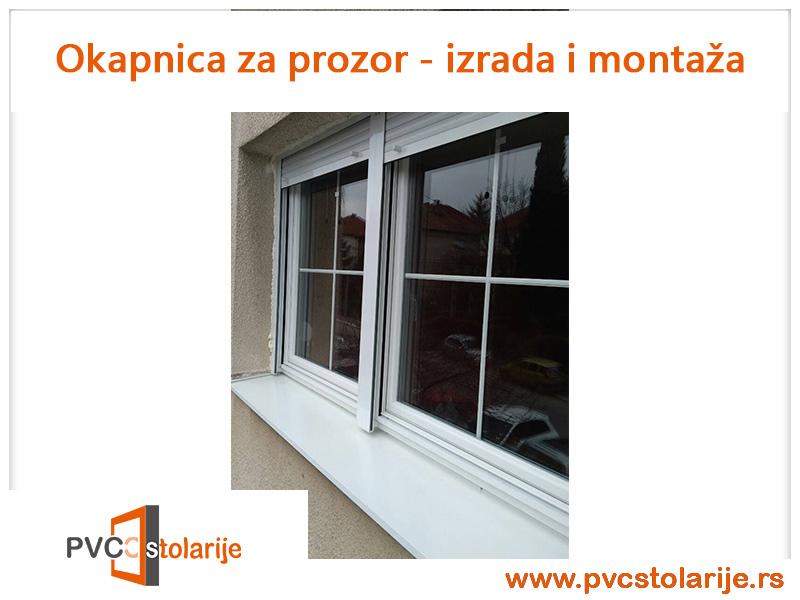 Okapnice za prozore (okipnica za prozor) - izrada i montaža - PVC Stolarije Tim