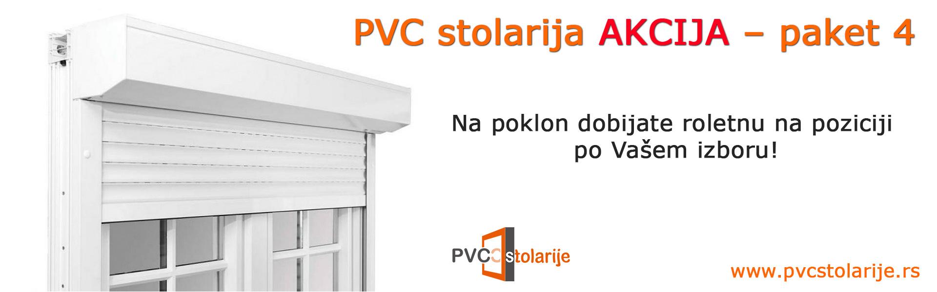 PVC stolarija akcija – paket 4 - PVC Stolarije Tim