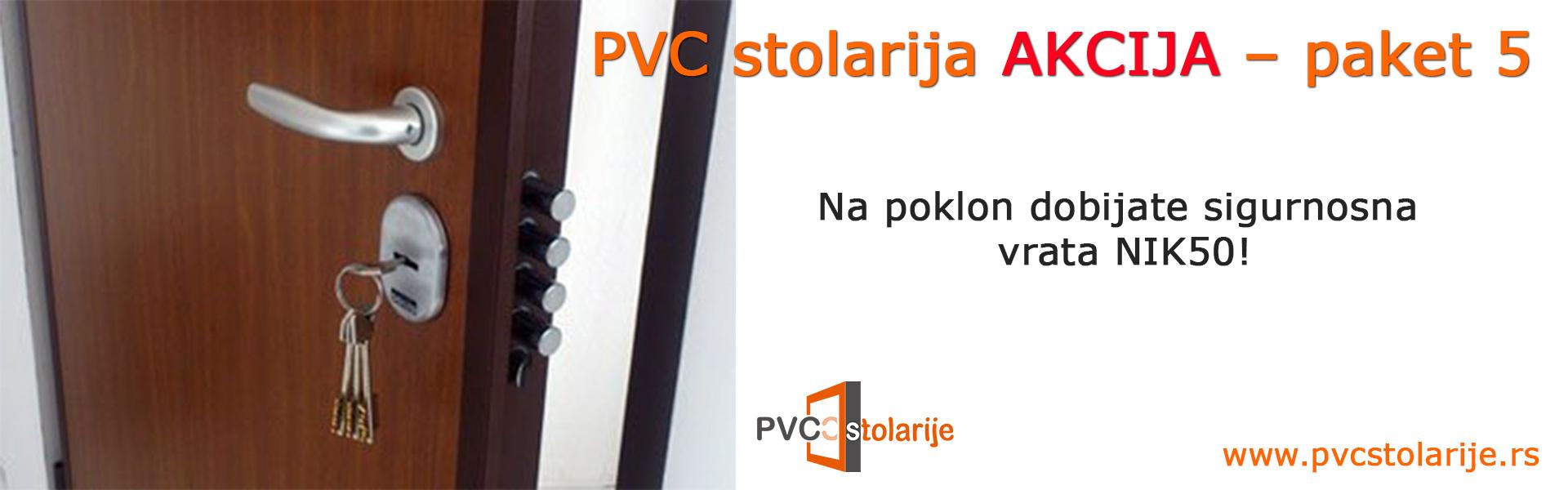 PVC stolarija akcija – paket 5 - PVC Stolarije Tim