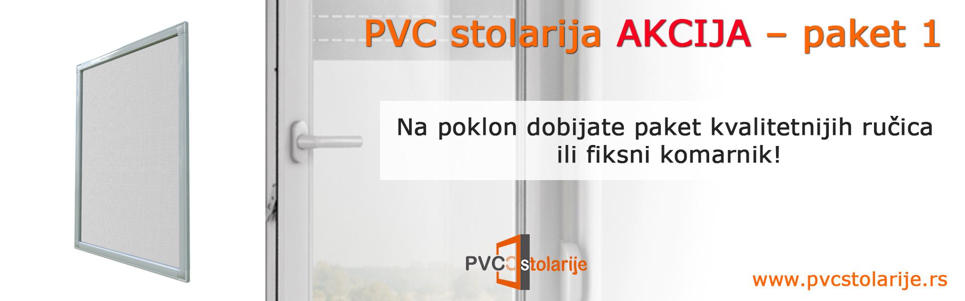 PVC stolarija akcija – paket 1 - PVC Stolarije Tim