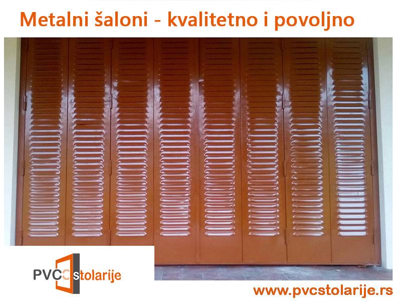 Metalni šaloni - PVC Stolarije Tim