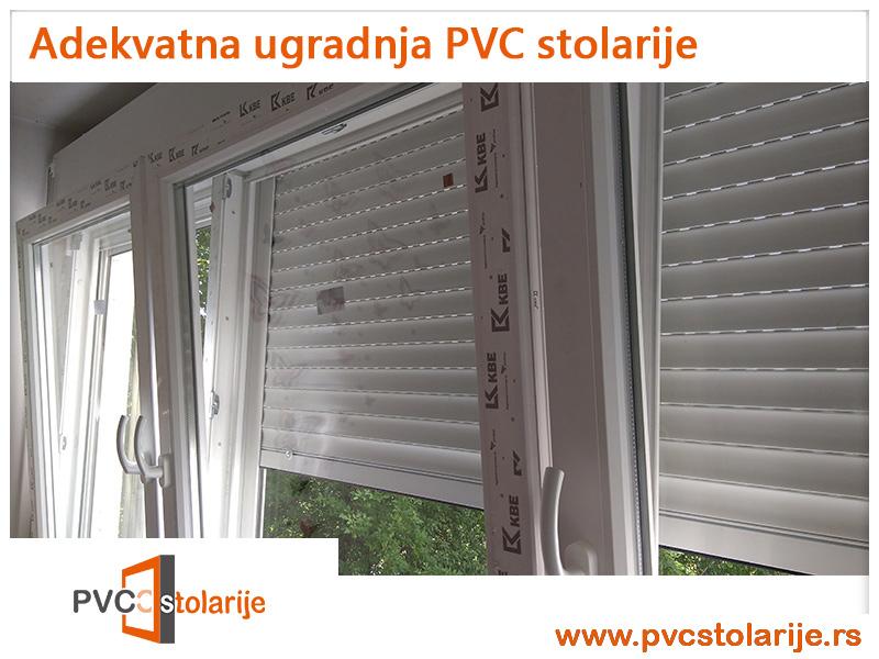 Adekvatna ugradnja PVC stolarije - primer visokokvalitetne PVC stolarije