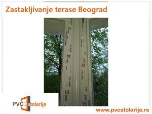 Zastakljivanje terase Beograd - PVC Stolarije Tim