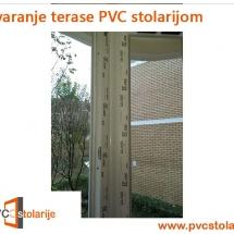 Zatvaranje terasePVC stolarijom - PVC Stolarije Tim