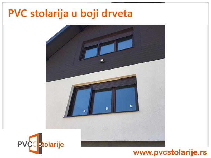 PVC stolarija u boji - PVC Stolarije Tim