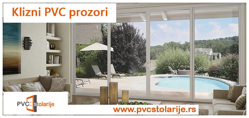 Klizni PVC prozori - PVC Stolarije Tim