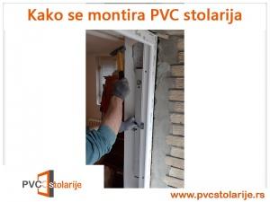 Kako se montira PVC stolarija - podešavanje horizontale i vertikale