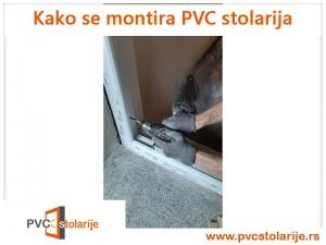 Kako se montira PVC stolarija - zašrafljivanje štoka