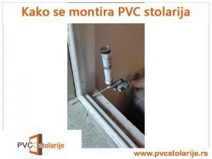 Kako se montira PVC stolarija - purpenisanje štoka prozora