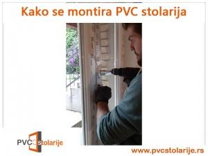 Kako se montira PVC stolarija - ušrafljivanje ručice i štelovanje