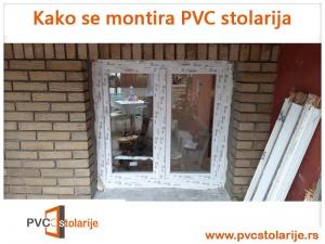 Kako se montira PVC stolarija - ugrađena stolarija
