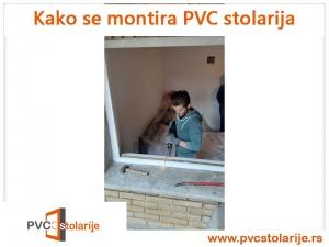 Kako se montira PVC stolarija - sečenje štoka