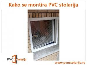 Kako se montira PVC stolarija - stari prozor
