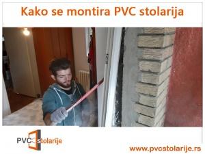 Kako se montira PVC stolarija - vađenje starog štoka