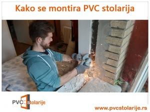 Kako se montira PVC stolarija - uklanjanje eksera, žica