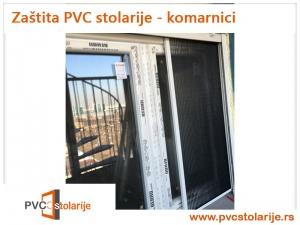 Zaštita PVC stolarije - komarnici