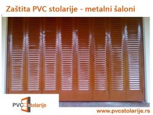 Zaštita PVC stolarije - metalni šaloni