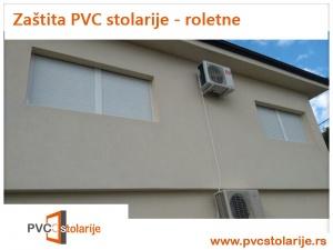 Zaštita PVC stolarije vremenskih nepirlika - roletne