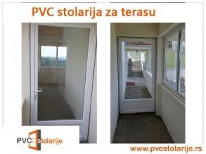PVC stolarija za terasu - PVC Stolarije Tim
