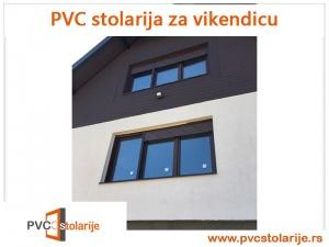 PVC stolarija za vikendicu - PVC Stolarije Tim