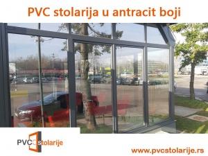 PVC stolarija u antracit boji - PVC stolarije Tim