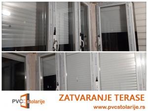 Zatvaranje terase kvalitetnom PVC stolarijom