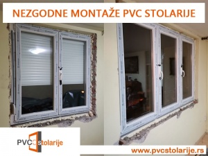 Nezgodne montaže PVC stolarije