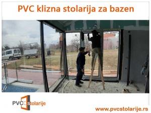 PVC kliznis sistem za bazen